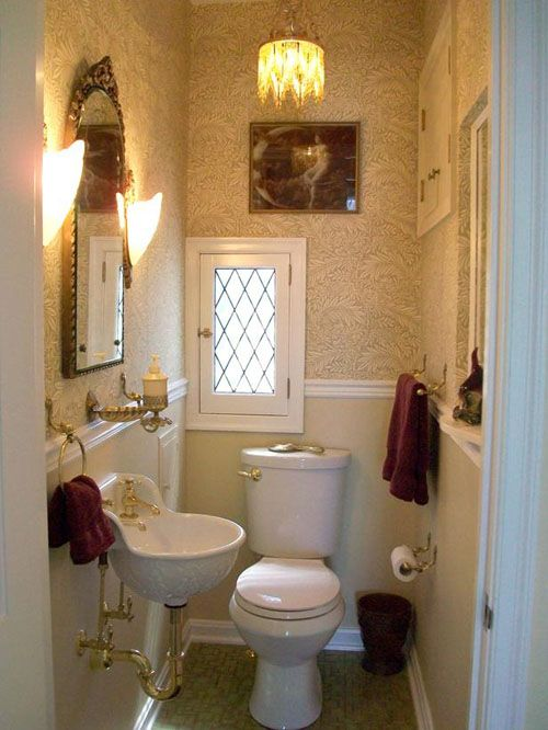 Small Powder Room Decorating Ideas Small Powder Room Pinterest Room Dec