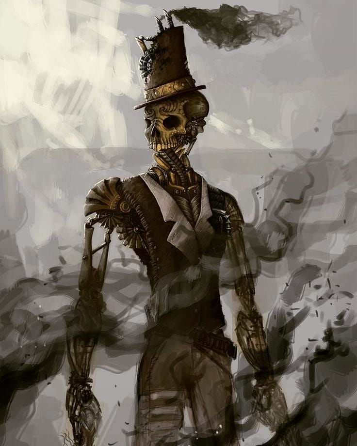 Living Dead Steampunk Style Alchemy Magic Steampunk