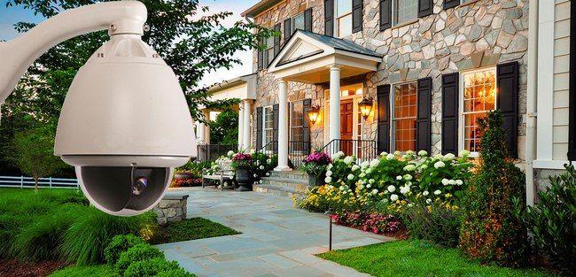 camaras de vigilancia para patio o jardin vision 360