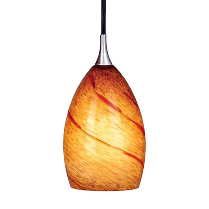 vaxcel milano lava swirl mini pendant track lighting pd30119sn