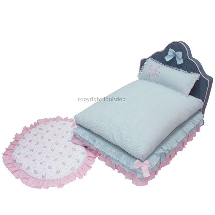 """1289 LD Кровать для собаки, бирюзовая """"Rosy Bed"""""""