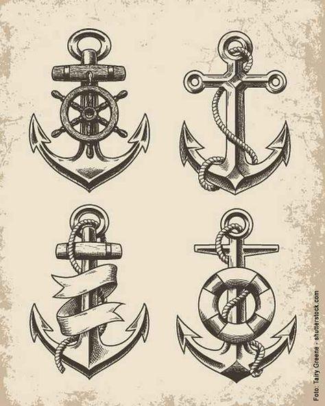 15 Cute Anchor Tattoos That Aren T Cliche: Die Besten 25+ Anker Tattoo Ideen Auf Pinterest