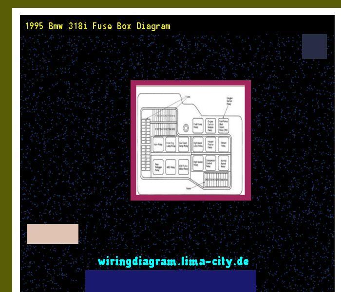 1995 Bmw 318i Fuse Box Diagram | Fuse box, Diagram, Bmw 318i