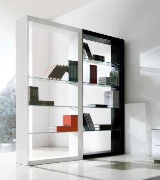 Good idea for a divider......Victroir-A Bookcase