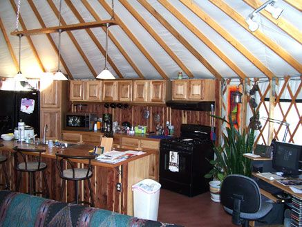 Elegant Colorado Yurt Company: Yurt Interior Design | YURT LOVE | Pinterest | Nice,  Search And Kitchens With Islands