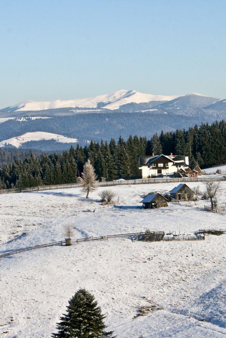Amazing winter landscape in Vatra Dornei. www.haisitu.ro