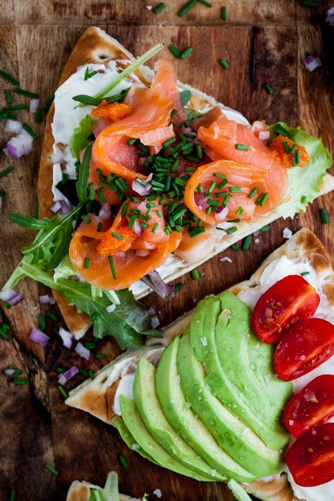 Lyxiga smörgåsar till brunch