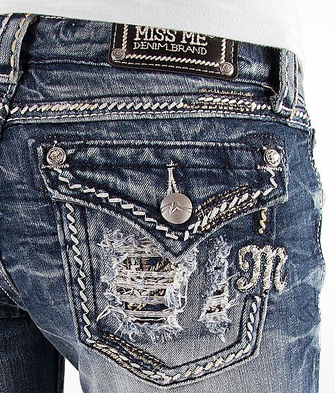 Miss Me Boot Stretch Jean #buckle #fashion #jeans www.buckle.com