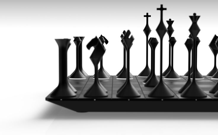 Chess Set, by Greg Thüne / Primer Studios_LA