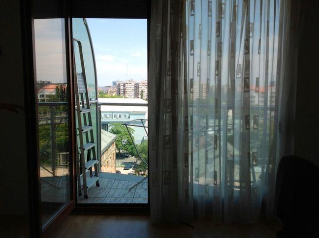 Terrace of room nr1 from inside