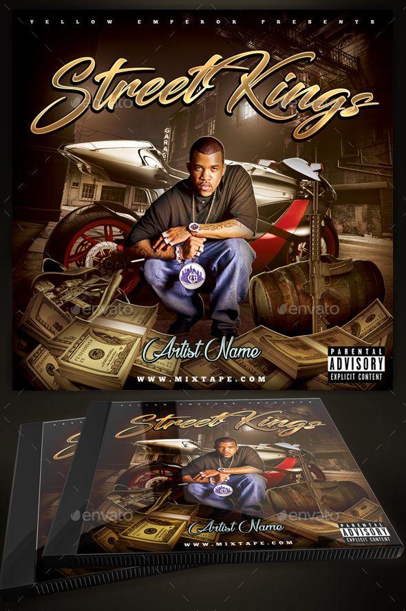 Street Kings CD Cover Template / Mixtape