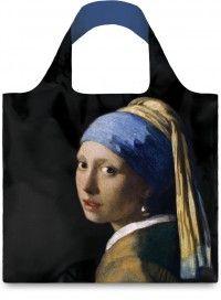 LOQI / museum| Vermeer: Dziewczyna z perłą. Trwała siatka na zakupy