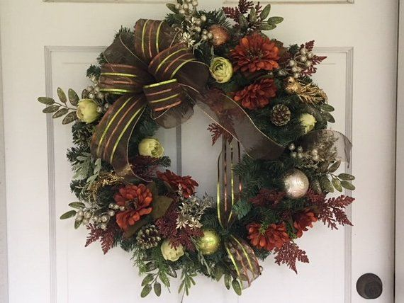 Image 0 Christmas Decorations Wreaths Fall Door Decorations Fall Decor