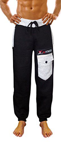 MITIAO Mens Tracksuit Bottoms USA Flag Printed Fitted Sweatpants Navy XXL *** Click image for more details.