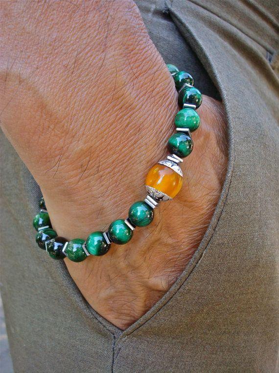 Hommes la guérison spirituelle et Fortune Bracelet par tocijewelry