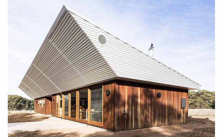 Exterior Clad In Spotted Gum Wood