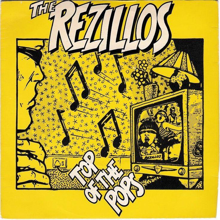 "Rezillos - Top of the Pops, 7"" vinyl, c.1978, Sire records, punk, new wave #vinyl"