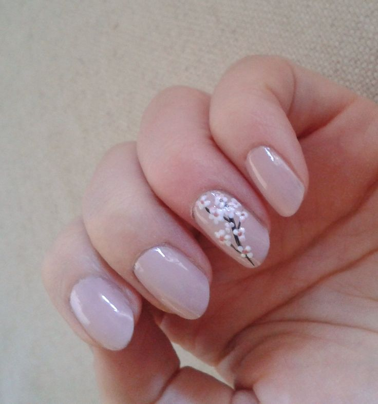 Best 25 cherry blossom nails ideas on pinterest spring nail art cherry blossom nail by janita helova italy manicurist httpjanitahelova prinsesfo Gallery