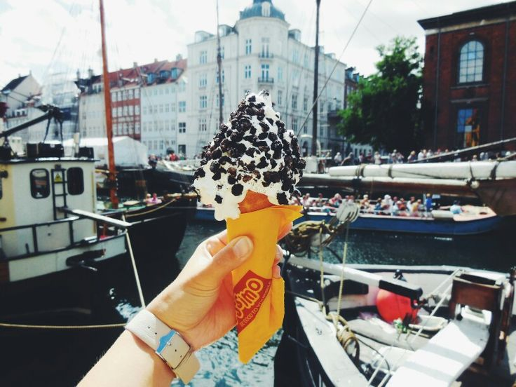 One of must-try in Copenhagen, Rajissimo ice cream