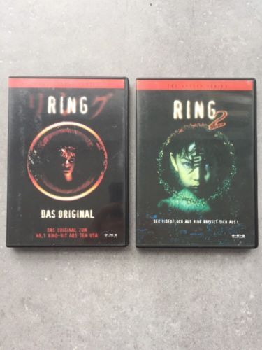 2x Top DVD , Ring 1 ; Ring 2 ; Kult Kinofilme ; Topsparen25.com , sparen25.de , sparen25.info