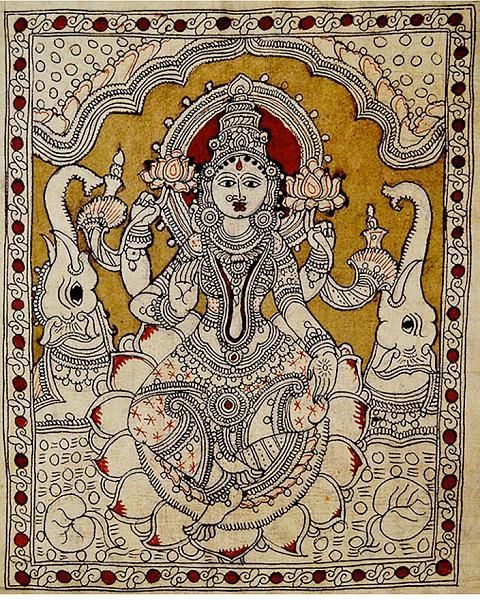 Indian Painting Styles...Kalamkari Paintings (Andhra Pradesh)-lakshmi1-7-.jpg