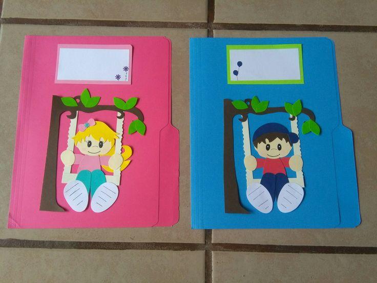 Folder decorados