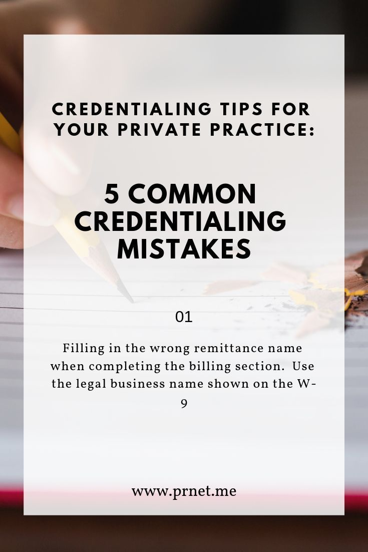 5 Ways To Minimize Credentialing Issues Credentialing For Your