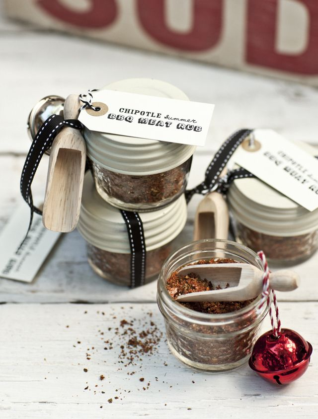 Edible holiday gifts via What Katie Ate