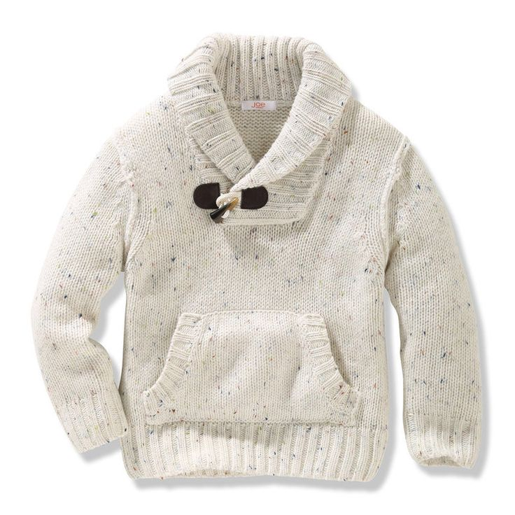 Toddler Boys' Shawl Collar Sweater - Joe Fresh