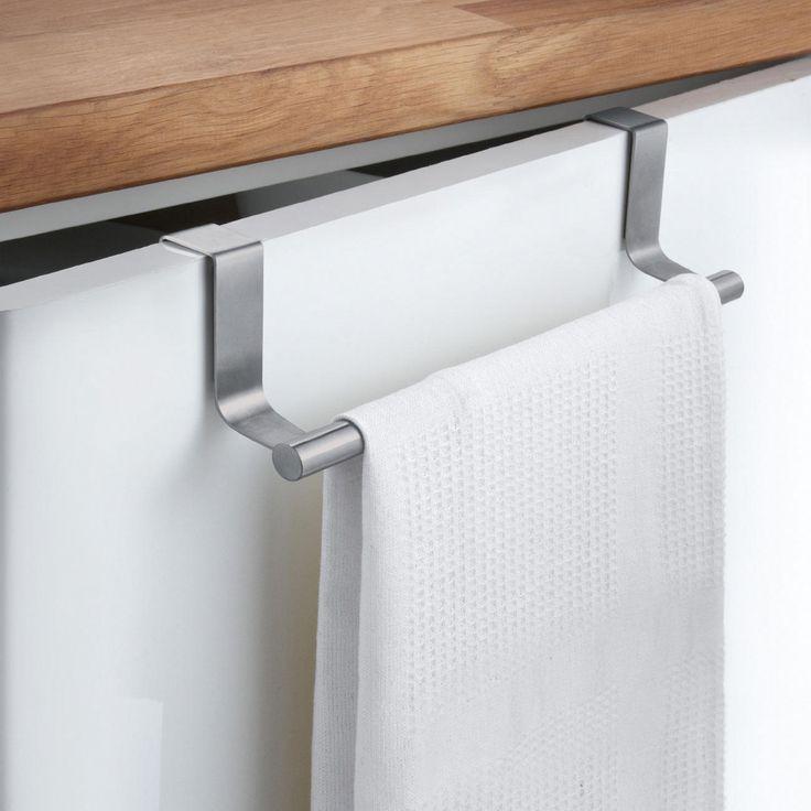 towel rail set of 2 turns every cupboard door into a towel rack simply