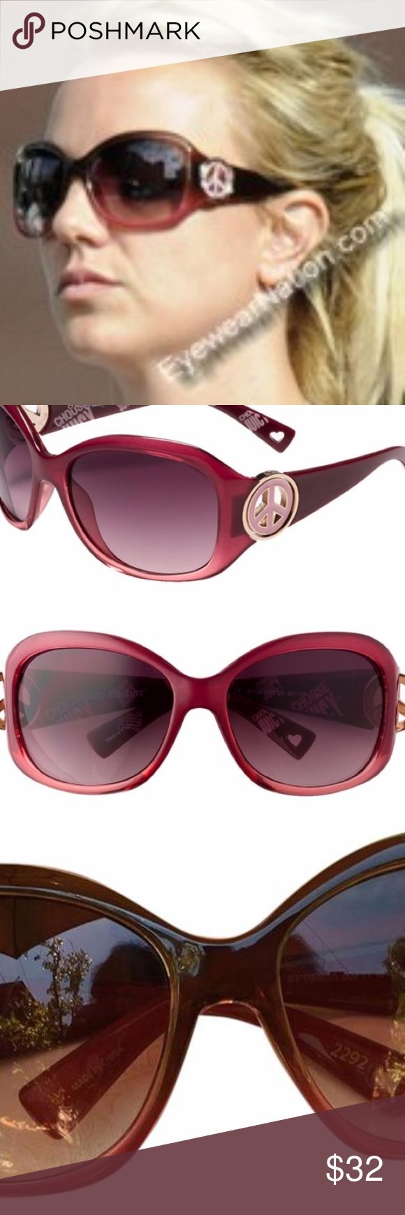 Juicy Couture BFF Sunglasses, With Case Juicy Couture BFF Sunglasses as seen worn on Brittany Spears, choose Juicy Couture in good condition comes with case. flash sale Juicy Couture Accessories Sunglasses