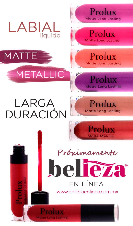 Muy pronto podrás tener toda la colección de #Labial #Matte y #Metálico  #Prolux. Espéralos.