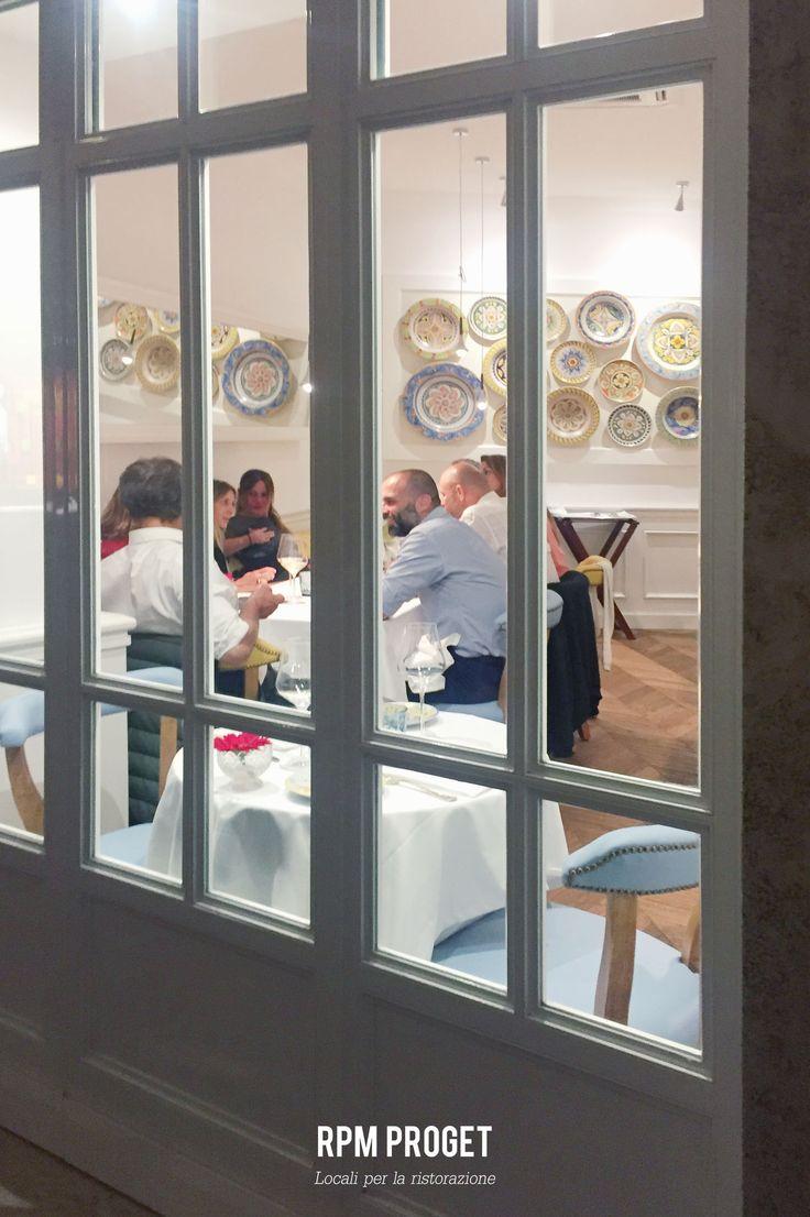 OsteriaSiciliana, il primo ristorante a Roma dello Chef stellato Nino Graziano. Design by #RPMproget
