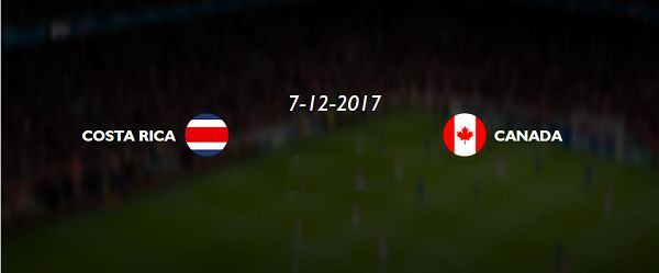 COSTA RICA vs Canada concacaf Gold cup 2017 live Streaming