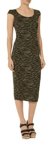 Sale – Up to 50% off at Dorothy Perkins, Khaki zebra print. Now $27.00