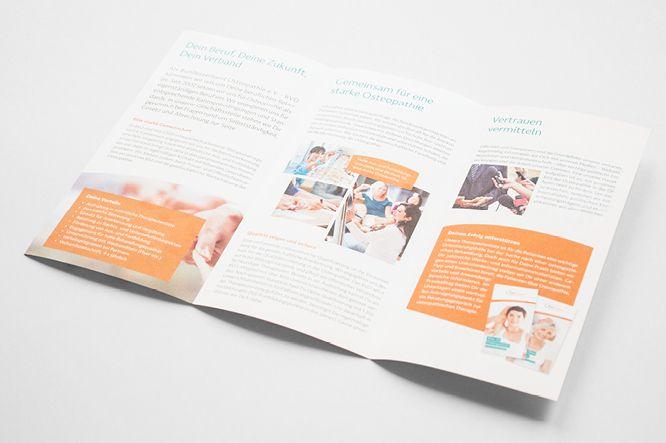 Kommunikationsmittel des Bundesverband Osteopathie e.V. - BVO
