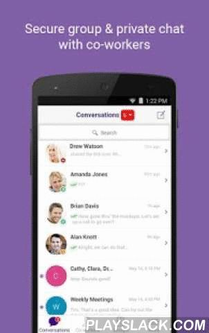 Office Chat: Team Text And IM  Android App - playslack.com ,  Office Chat is a free, secure Instant Messaging application for businesses. Use Office Chat to collaborate, text or chat one-to-one or in groups with colleagues, clients & coworkers from Mobile, PC Or Mac.  As Office Chat works for private one-to-one conversations or group chats between large or small teams, so you can talk with just one colleague or a group of ten about work related ideas, projects, and more. Beyond chatting…