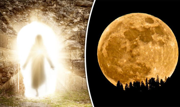 A HUGE supermoon heading our way in DAYS will bring with it the end of life and the second coming of Jesus, it's being predicted.
