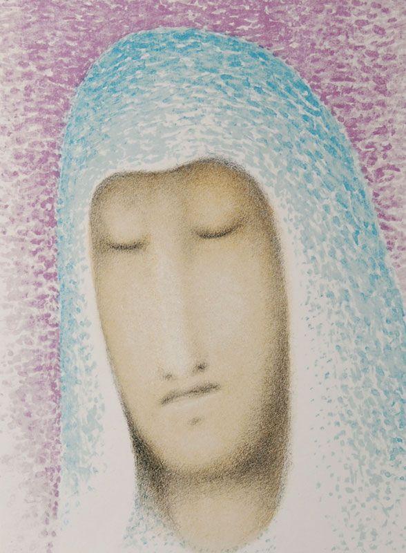 Jan Zrzavy - Angel (Old Woman), Opus 35, 1972