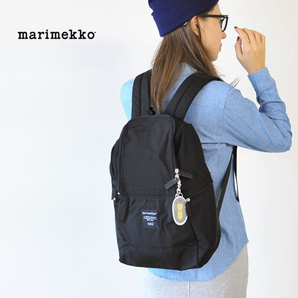 【楽天市場】【クーポン対象外】marimekko マリメッコ METRO/ナイロン バックパック・5263139972(全2色)(unisex)【2014秋冬】:Crouka(クローカ)