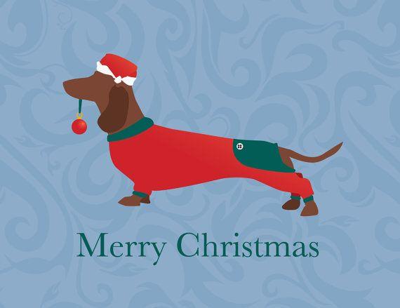 $18 Custom Christmas Card Design of your Dog, Cat, Pig or Pet - digital file on Etsy