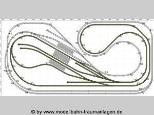 Gleisplan Spur N