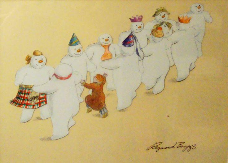 """The Snowman"" by Raymond Briggs"