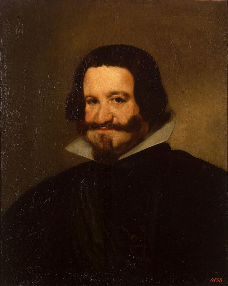 Count duke of Olivares - Diego Velazquez