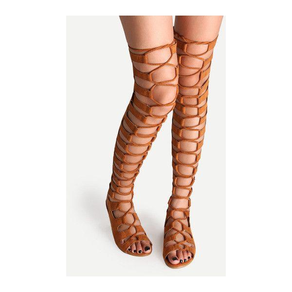 Best 20  Thigh high sandals ideas on Pinterest | High sandals ...