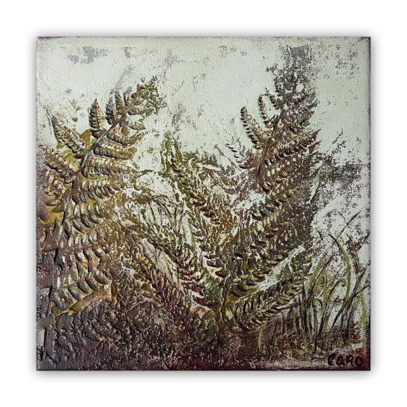 Amitié  Small Original Painting 8x 8 by UntouchedNature on Etsy