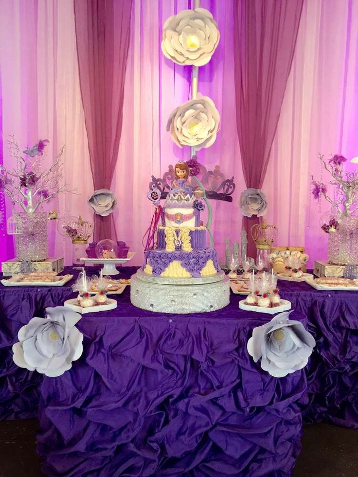 1000 Images About Sofia The First Party Ideas On