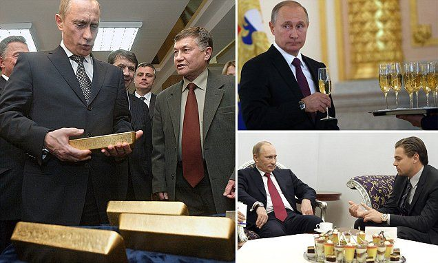 """#DailyMailUK ..... """"During his nearly two decades in power, Vladimir Putin's net worth has been widely speculated, with the former KGB agent likely having assets in real estate and company holdings."""".... http://www.dailymail.co.uk/news/article-4242718/Vladimir-Putin-200-billion-fortune.html"""