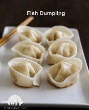 {Recipe} Ginger and Scallion Fish Dumpling + Dumpling Festival