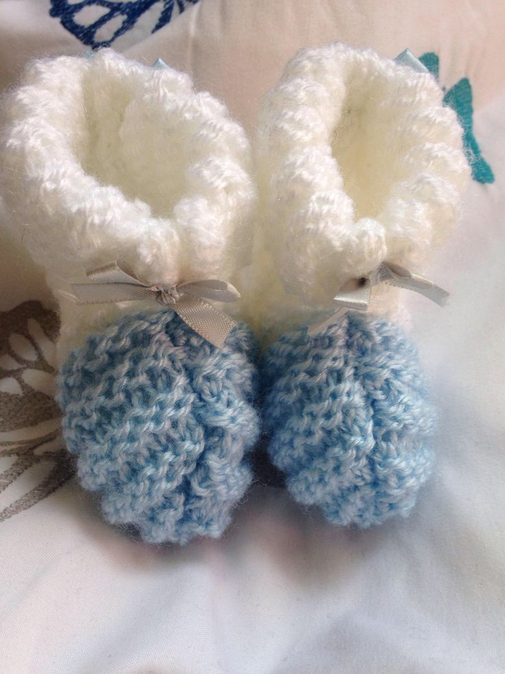 A personal favourite from my Etsy shop https://www.etsy.com/uk/listing/518370848/beautiful-baby-boy-booties-0-to-4-months